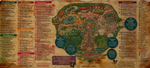 Ancient Disney Map by ZhaneAugustine