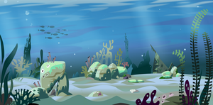 under the sea BG by Gilmec