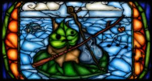 Stained glass Makar by Ziggster