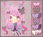 Auction- Colorful Bunny [Closed] by myaoh