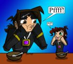 Father and Son... Pfff! by MidNight-Vixen