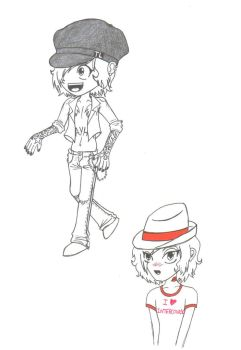 T-Bone sketches by PearGirl