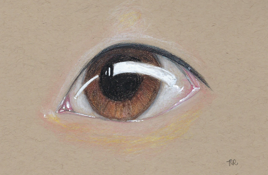 Sketch III: Eye by Khrestos