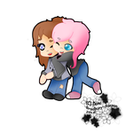 Hugging OC's for oliveutah8! by CuteyCreations