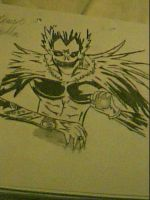 Ryuk from Death Note by captonstu