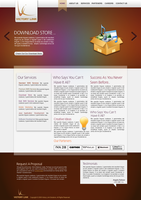 Victory Link Corporate website by safialex83