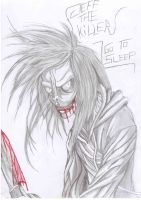 JEFF THE KILLER OTHER VERSION by alexjuandro