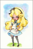 Alice in Wonderland by NobuSama