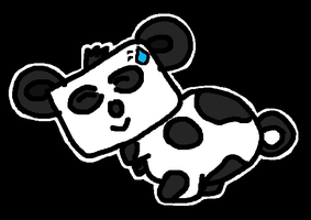 Panda from L4D2 by Phantom-Wolf42