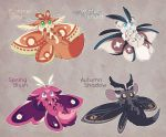Moth Kit Auction! [CLOSED] by Zilleniose