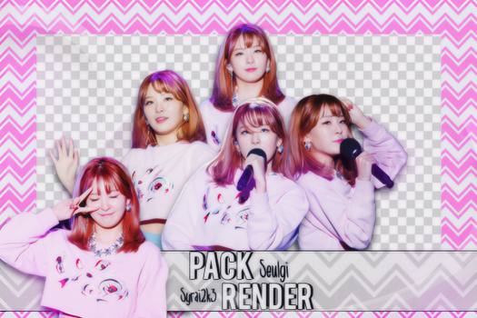 [Share render #6] Pack 5 png Seulgi - Red Velvet by MyMinniiee-PJ95