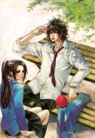 Pingpong Boy01:cover novel by kappauka