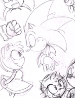 Sonamy Doodle - Lets go on a date! by Rikachu-R1