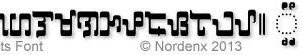 Baybayin Leets Font by Nordenx