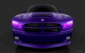 Purple Halos by SmokinGrafix