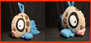 Feebas plushie by Arkluden