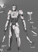 Kane armored mode version 3 by deadpoolthesecond