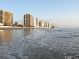 Daytona Beach Skyline Preview by CelticStrm-Stock by CelticStrm-Stock