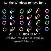 Windows 7 Remixed Cursors by VasanRajeswaran