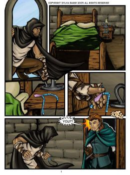 Ravenwood, Page 1 by SilverKitty000