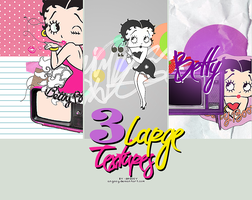 3 Betty Boop textures  XD by ANGOOY