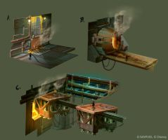Disney Infinity 2.0 - Mining surface by OmenD4