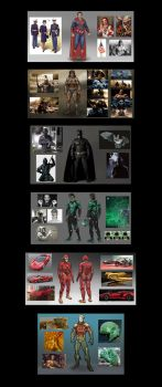 DC character redesigns by SamSaxton