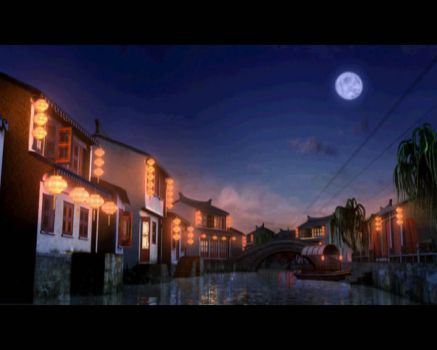 water town by Solair3