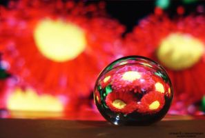 gel ball reflection by lindahabiba