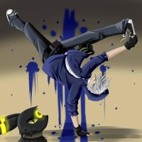 Breakdance by YuunCatravis