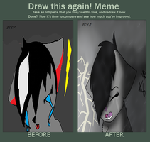 Cry:Draw this again: by Turtlewuff