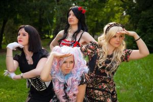 Lolita  team by Elsa-Cosplay