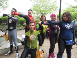 The Lantern Corps by Lionofdemise