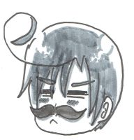 Romano with a mustache by Travmonic