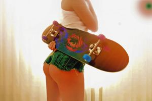 Skater Girl - by Slawa by montag451
