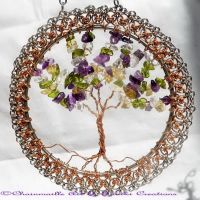 Mabon: Tree of Life Wall Decor by sanikicreations