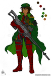 Female Sniper - Preview by RBL-M1A2Tanker