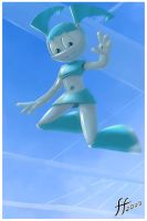 SkyDiving Jenny by 14-bis