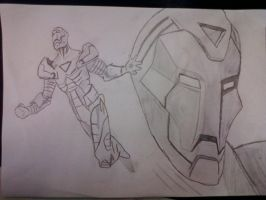 Iron Man - unfinished by galis33