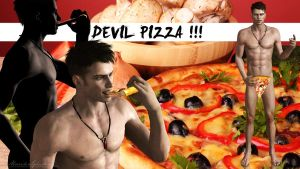 Devil Pizza! by MakiRepent