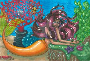 A mermaid picture by TheLuckyStarhopper