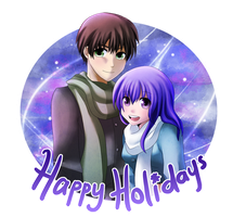 Happy Holidays 2011 by mewDoubled