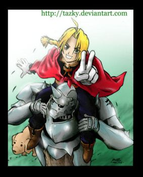 FULL METAL ALCHEMIST COLORED by tazky