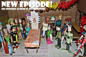 Total Drama Characters Figures SEE EPISODE 10 NOW by ViluVector
