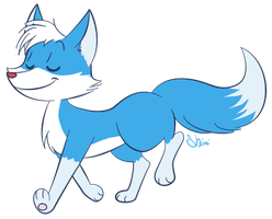 This fox is awesome by Shini-Smurf