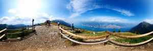 View point at Monte Baldo ::360Pano:: by rdevill