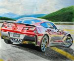 Corvette Sting ray C7 by Ant787