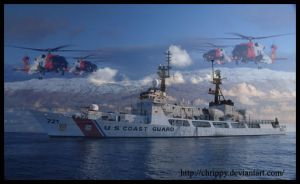 USCG Blue by Chrippy