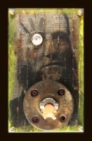 Mixed Media Assemblage 71a by GregPDX