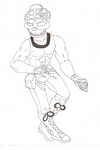 skeleton man with the grenade by Prepare-Your-Bladder